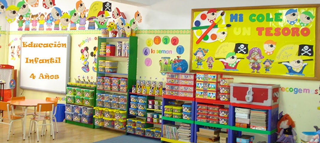 Educación infantil 4 años