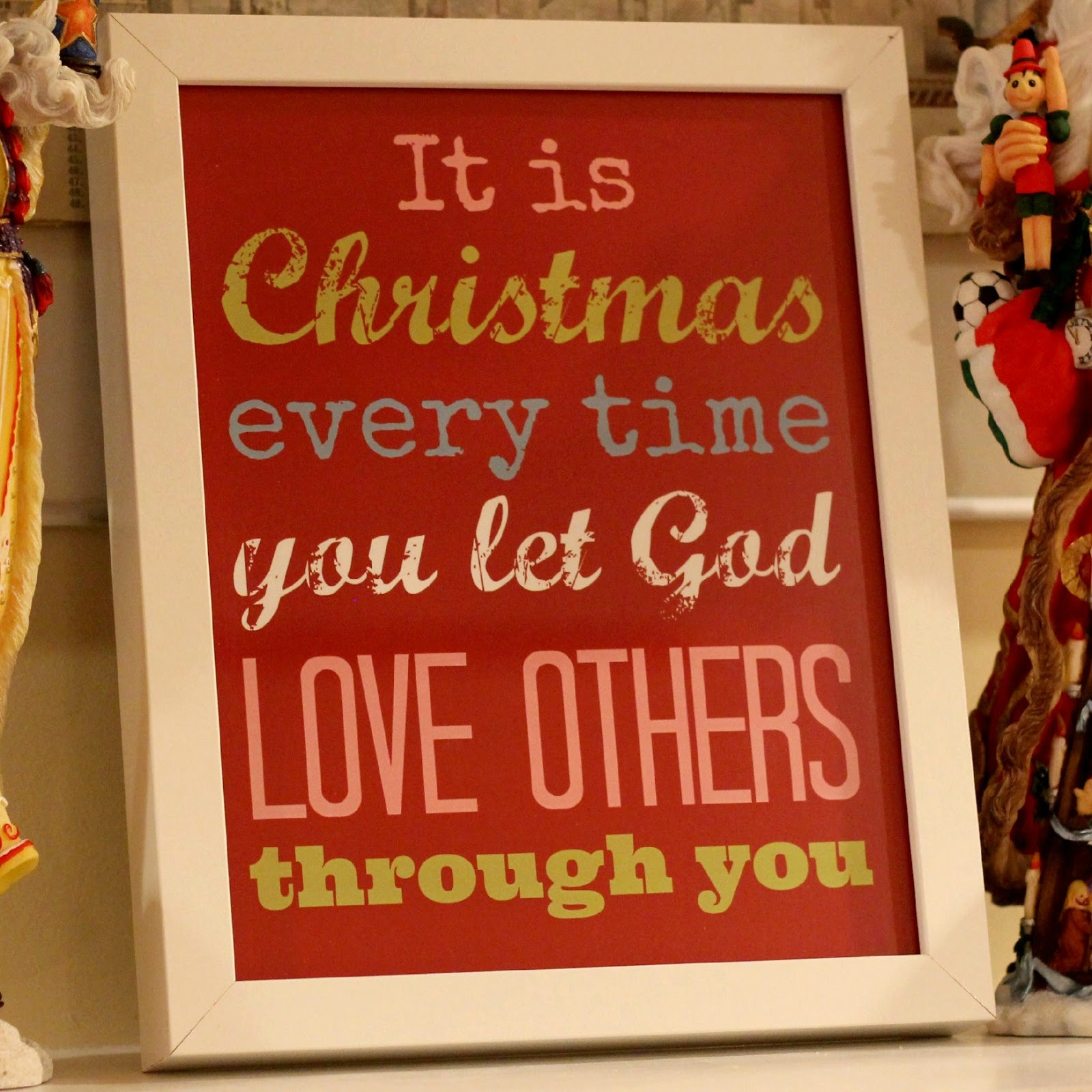 Free Printable: Christmas Quote