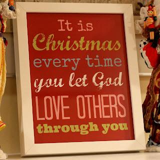 Free Printable: Christmas Quote