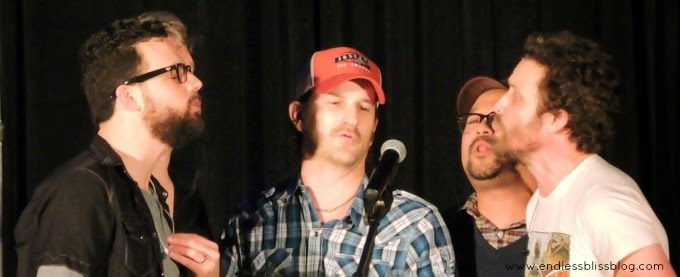 richard speight jr and louden swain at supernatural con in houston 2015