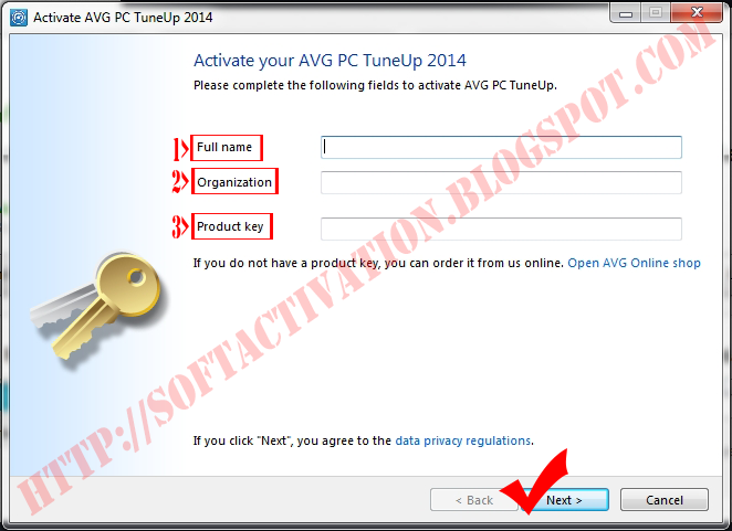 to use a pirated license code of avg pc tuneup please purchase a