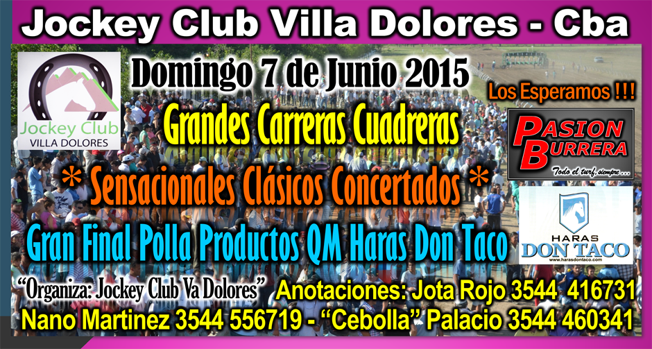 VILLA DOLORES - 7 DE JUNIO