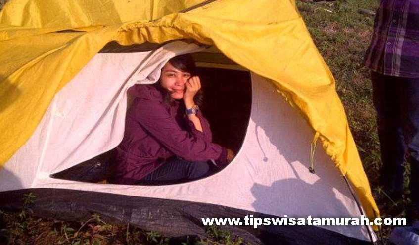 Liburan Hemat,? Camping di Bukit Sabak Sukabumi Juga Asik