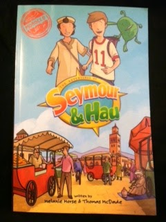 http://www.amazon.com/Adventures-Seymour-Hau-Morocco/dp/0692298347/ref=sr_1_1?ie=UTF8&qid=1421424764&sr=8-1&keywords=seymour+%26+hau&pebp=1421424769920&peasin=692298347