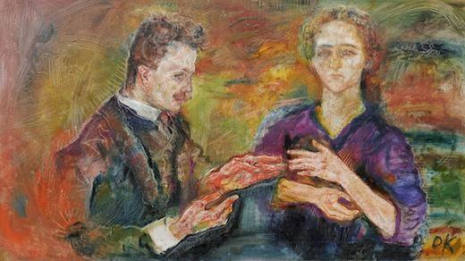 Portrait de Oskar Kokoschka