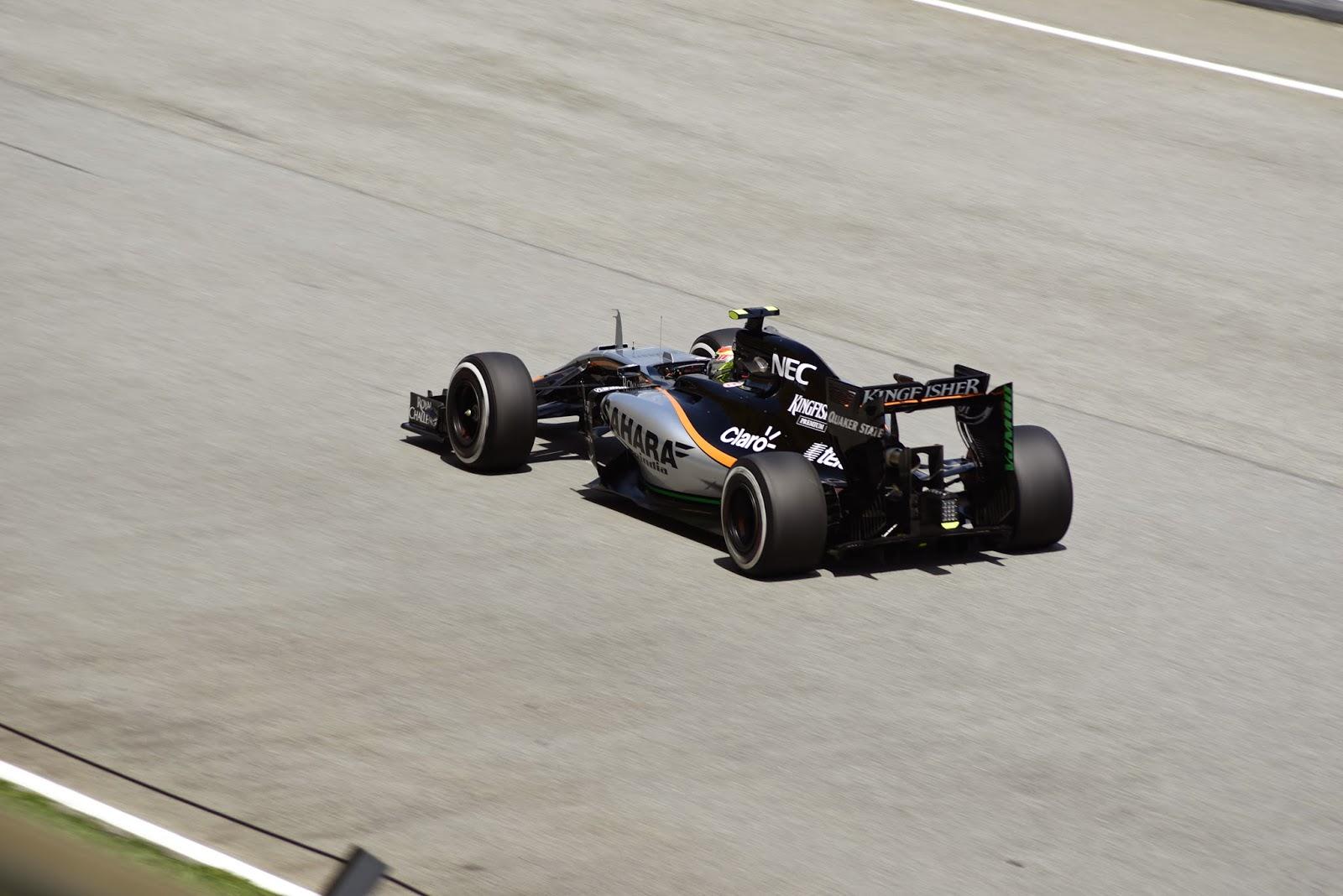 Force India Formula 1 Car