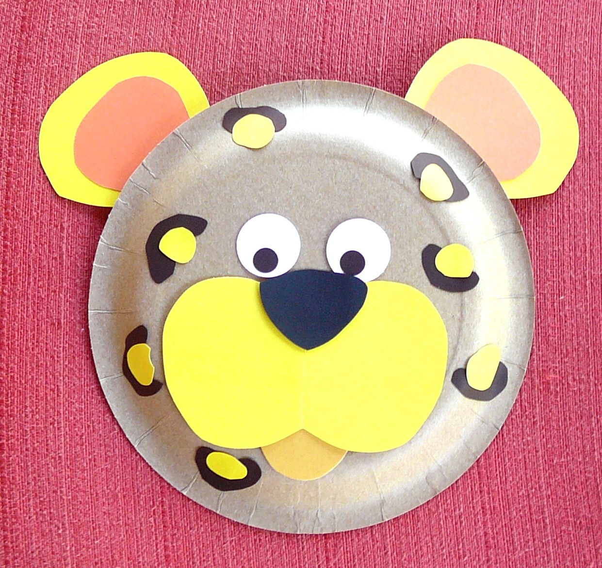 Paper plate animal crafts - Paper Plate Animals