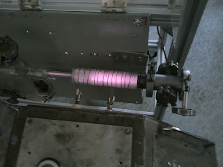 Plasma tube with the coil