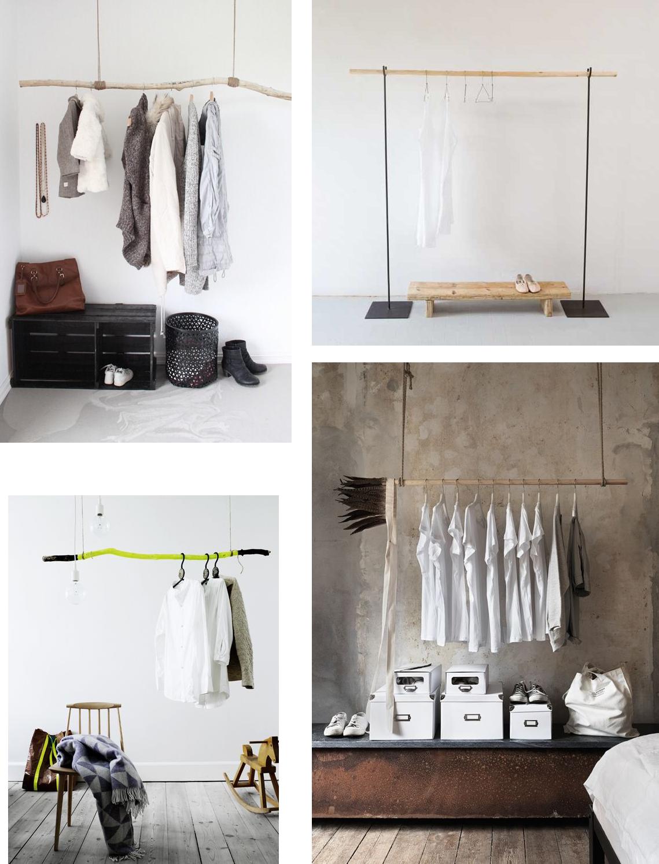 le blog d 39 anastasia diy clothing racks. Black Bedroom Furniture Sets. Home Design Ideas