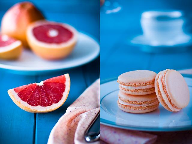 Seychelles Mise En Scène: Grapefruit Macaroons - DIY