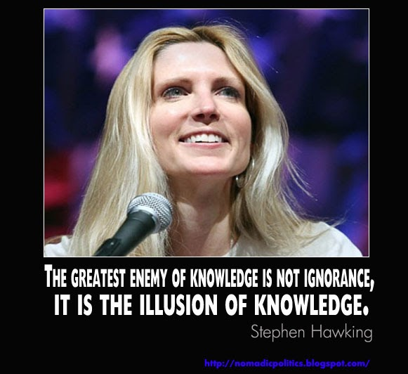 Quote Smackdown: Ann Coulter vs. Stephen Hawking   Nomadic ...
