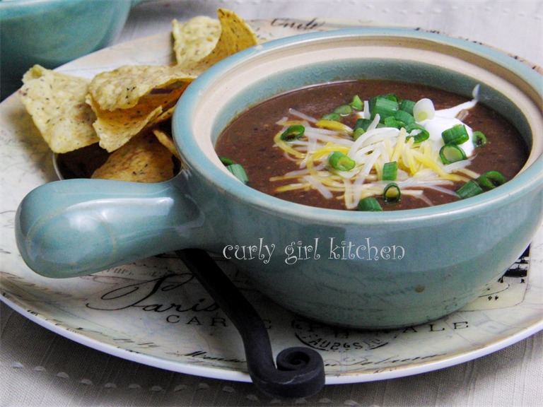 black bean soup black bean and roasted pepper soup black bean and ...