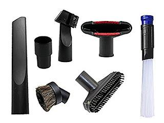 Universal Vacuum Cleaner Parquet Bare Floor BrushFits 1.25-Inch Hoses Wands
