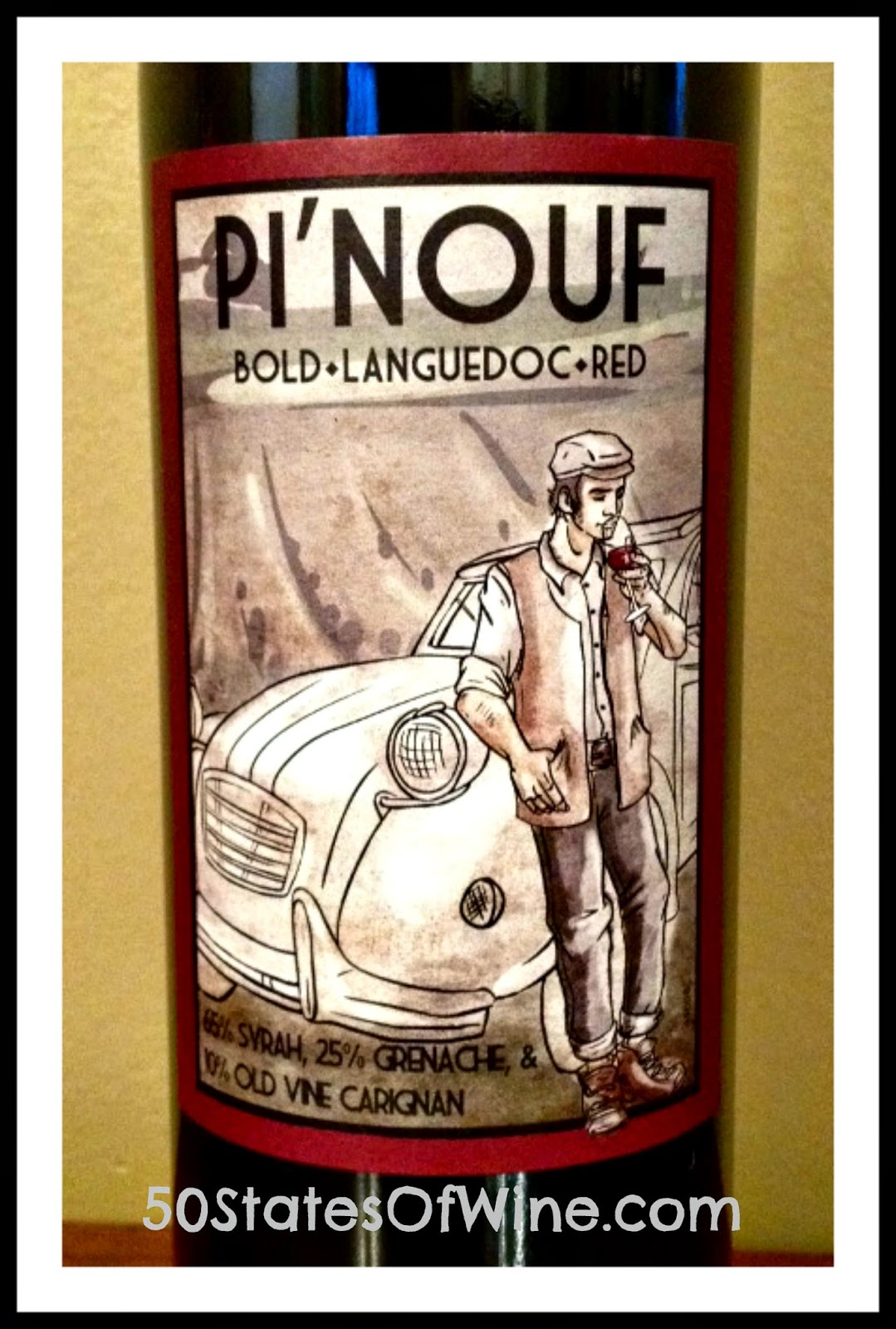 Pi'nouf 2009 Languedoc Red