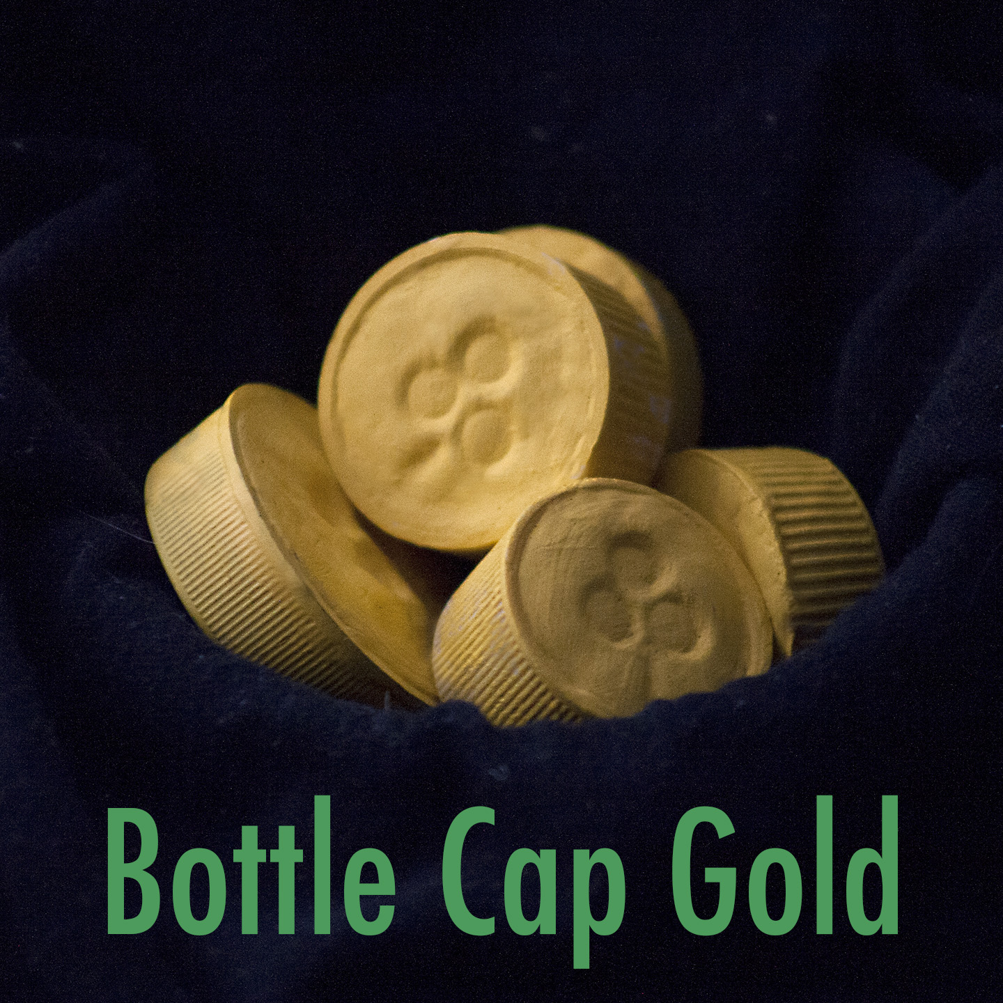how to get gold bottle caps