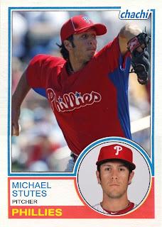 2011 Chachi #30 Michael Stutes