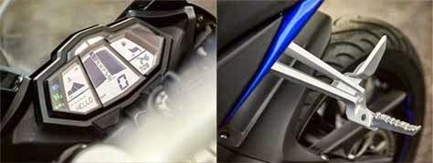 Speedometer & Footstep Yamaha R125