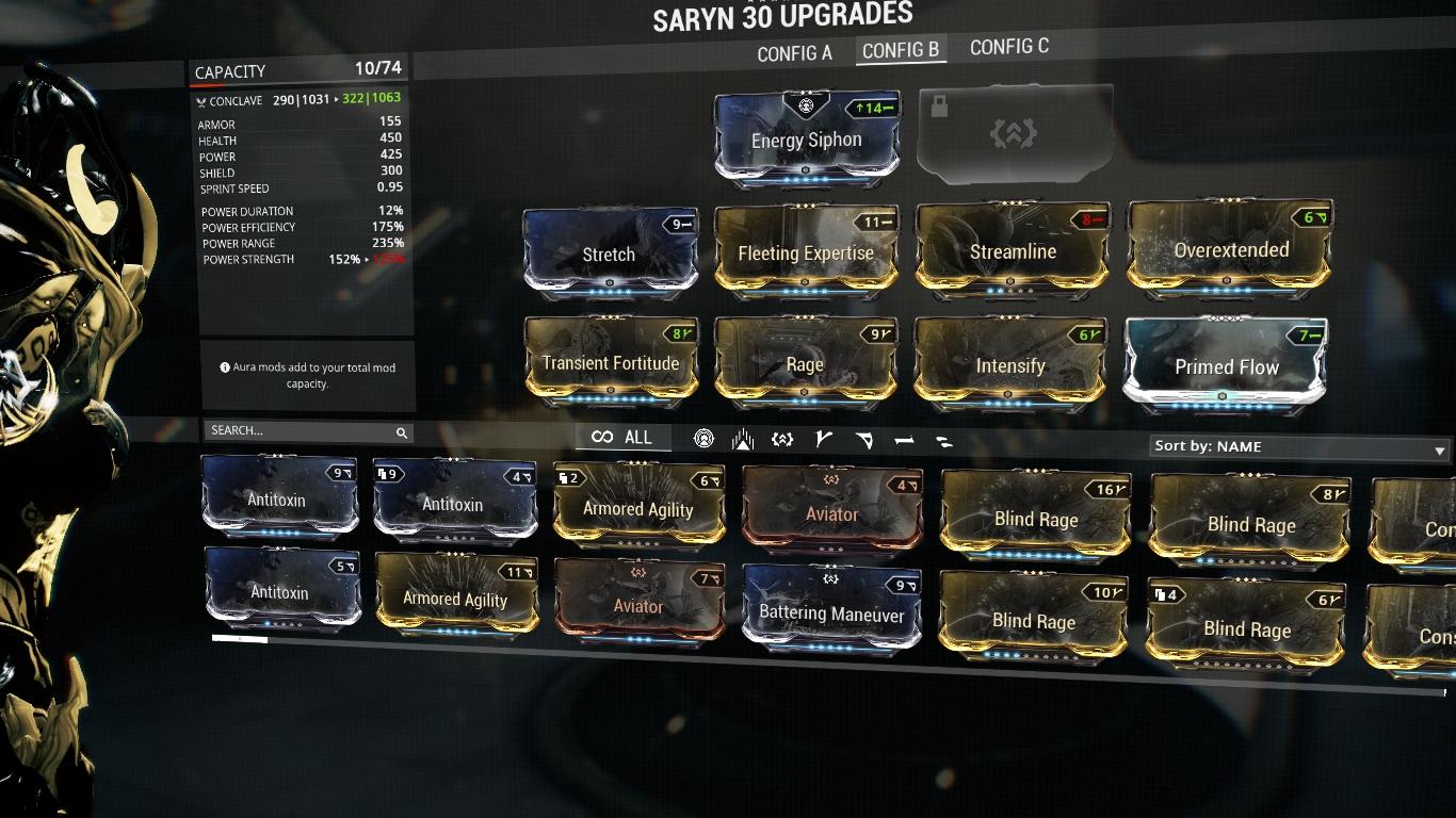 Best Saryn Build