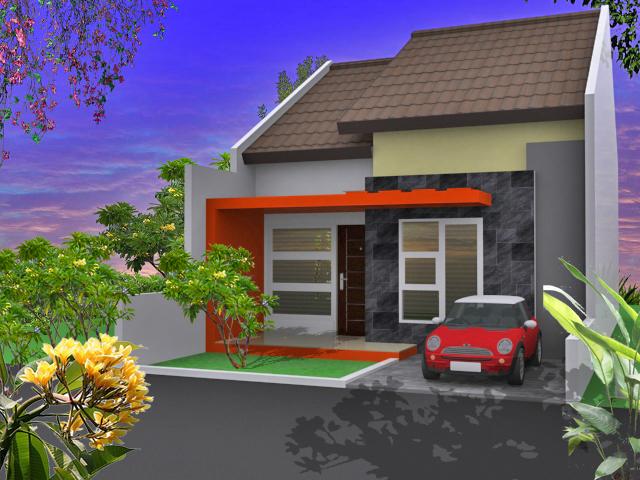 desain denah rumah minimalis type 45