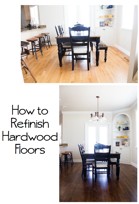 diy how to refinish harwood floors