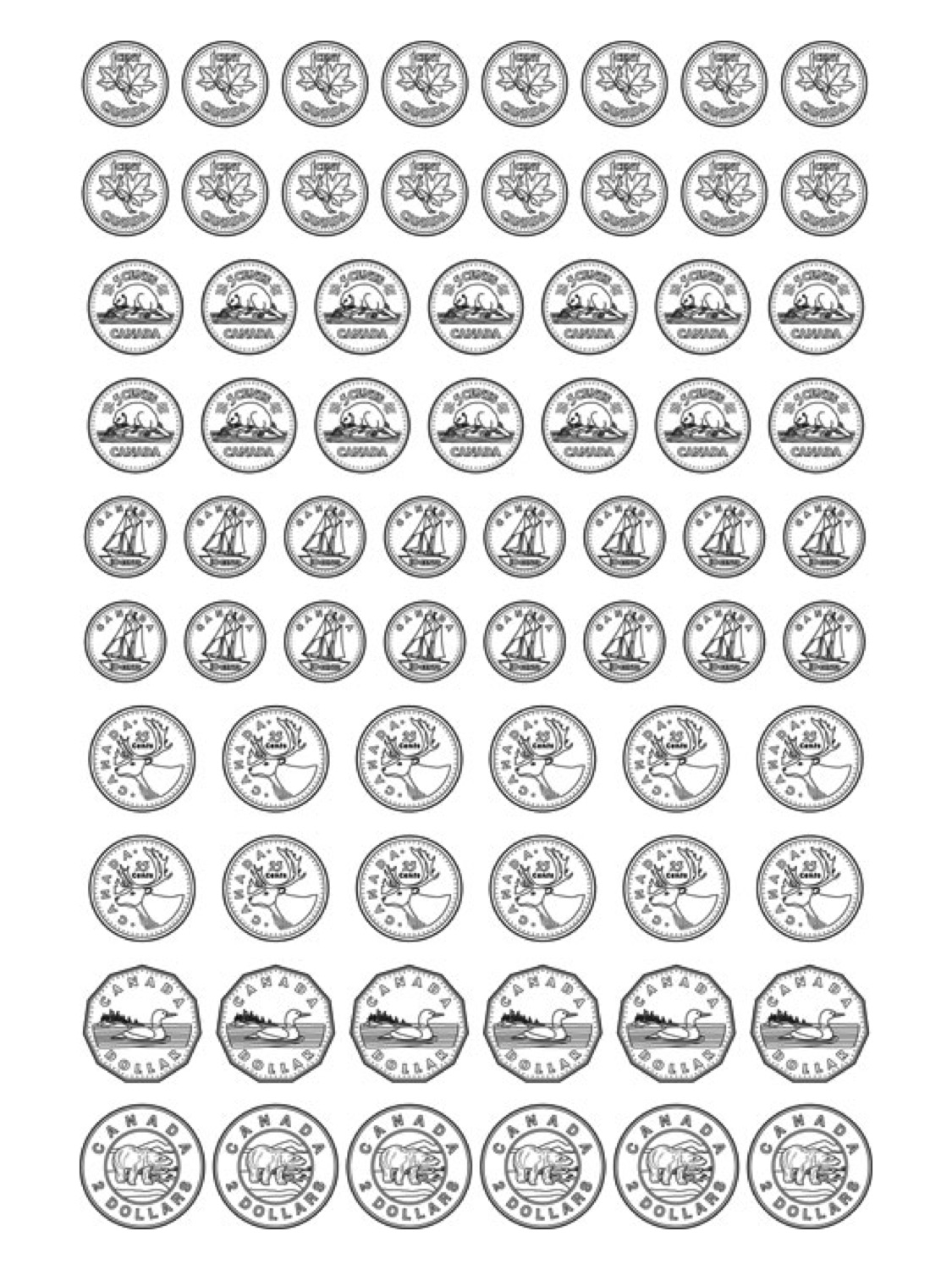 Worksheet Printable Coins coins coloring page futpal com how to make a picture into chinese dragon mask