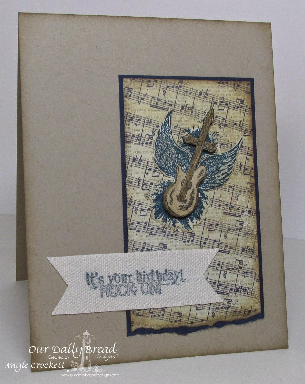 Our Daily Bread designs Rock Star, Card Designer Angie Crockett