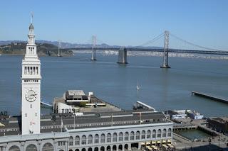 ferry building&golden gate bridge