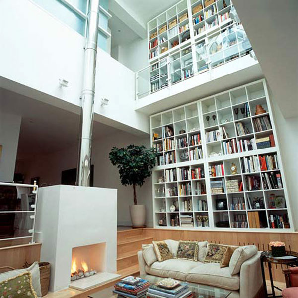 contemporary home library designs amazing facts