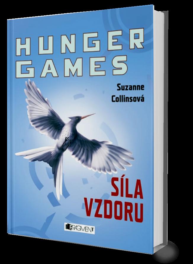 Výsledek obrázku pro Hunger Games 3 png kniha