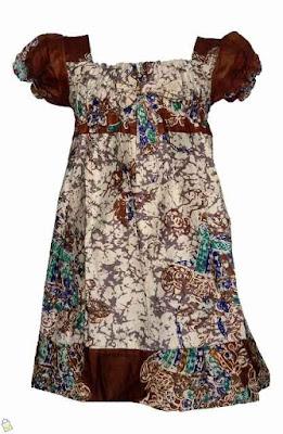 Model Baju Batik Anak Perempuan 7