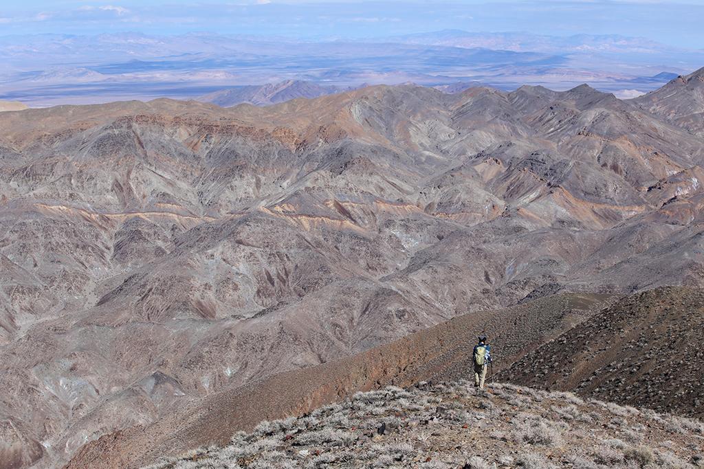 Hiking Winters Peak