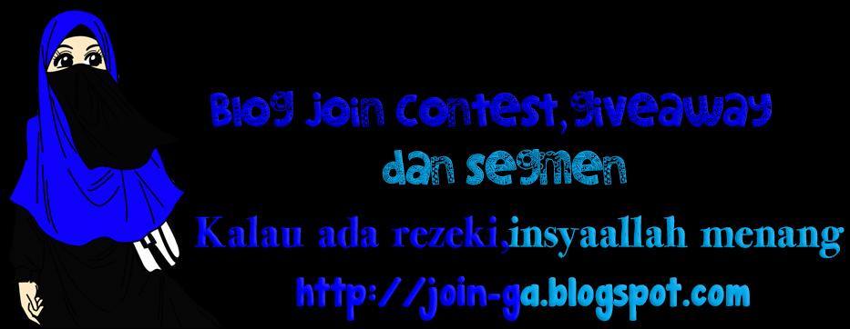 Blog Contest,Giveaway,Segmen dan lain-lain.