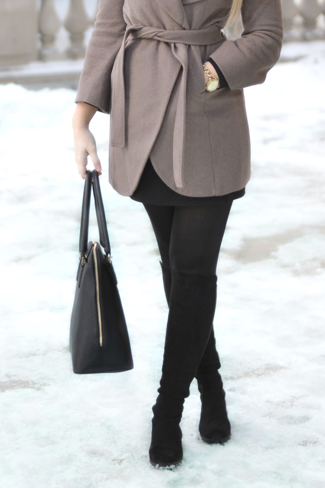 wool wrap coat bright and beautiful chicago fashion