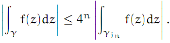 Complex Analysis: #4 Cauchy`s Theorem (simplest version) equation pic 7