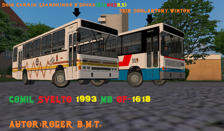 Comil Svelto 1993 MB OF-1618 SVELTO