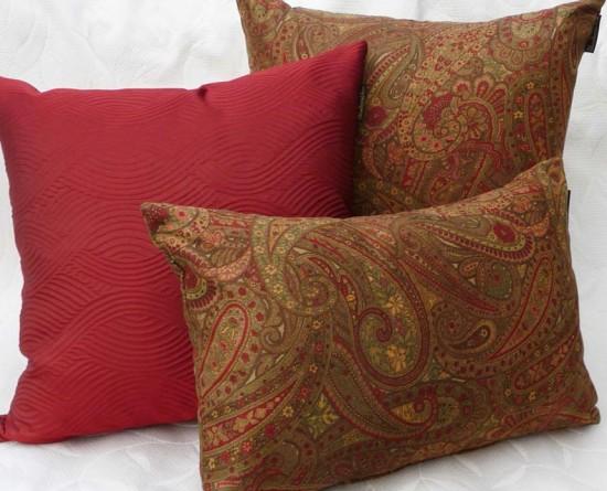 Autumn Vanilla Picture Autumn Throw Pillows