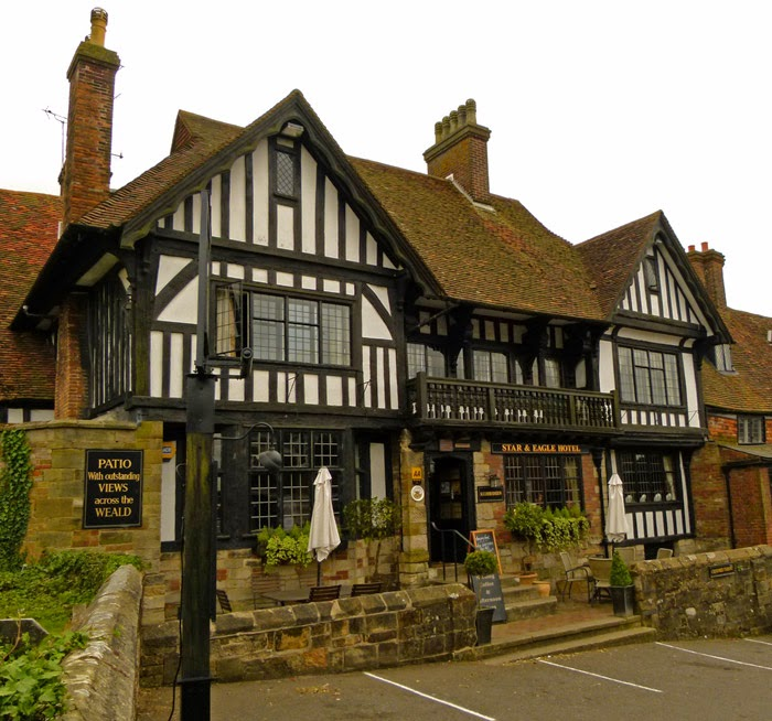 Star and Eagle, good food, smuggling, Goudhurst, Kent.