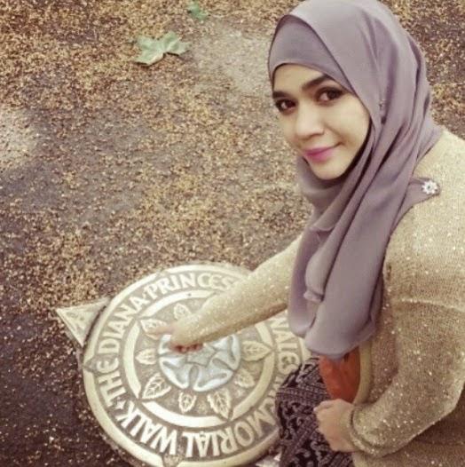 Aksi romantik Diana Amir dan Mohd Habib bercuti di Paris, info, terkini, pelakon, hiburan, gambar artis bulan madu