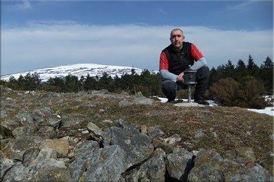 Berretin mendiaren gailurra 1.226 m. -- 2012ko martxoaren 2an