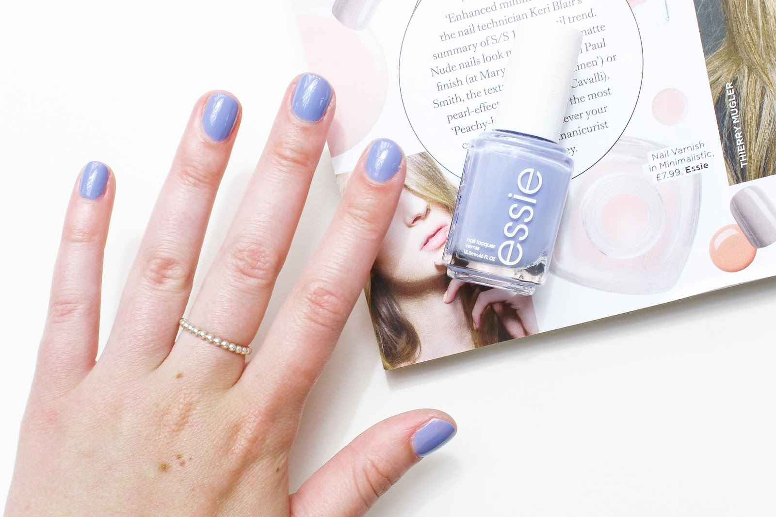 Essie Nail Polish in Lapiz of Luxury | A Little Soapbox
