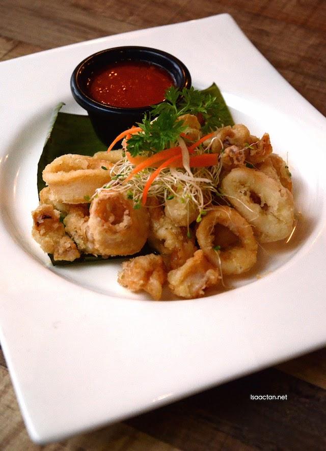 Deep Fried Calamari - RM25