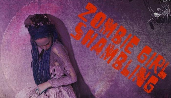 Zombie Girl Shambling