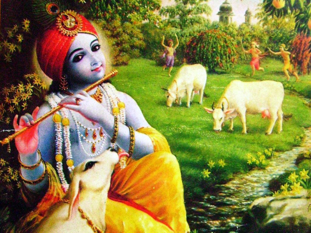 Download Wallpaper Lord Krishnan - Lord+Krishna+Wallpaper  Pic_689450.jpg