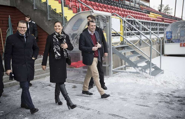Crown Princess Victoria of Sweden with her husband Crown Prince Daniel visited the Jämtland County located in the region of Norrland
