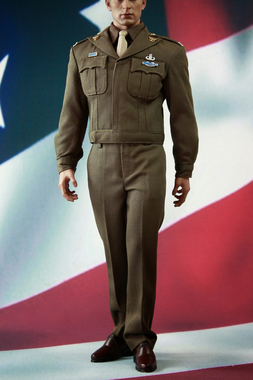 Shoes for POPTOYS X19 Golden Age WWII Captain America US Army 1//6 Scale Figure