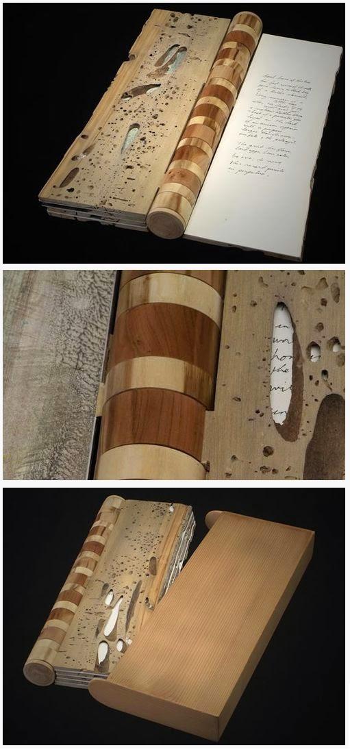 Encuadernacion al poder diez ideas para cartas de menu en - Bisagras para madera ...