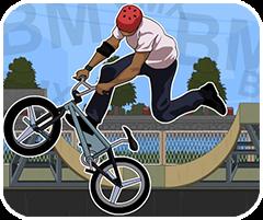Biểu diễn xe đạp đường phố, chơi game thể thao online