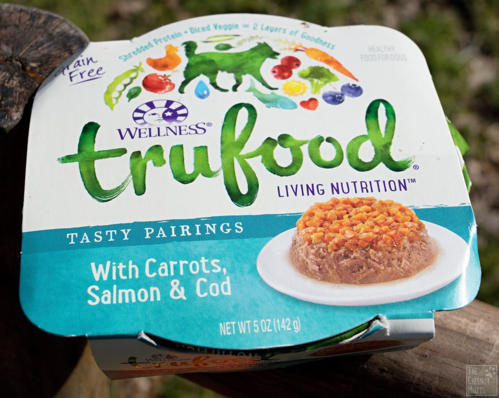 Review: Wellness® TruFood® Tasty Pairings Dog Food | The Chesnut Mutts