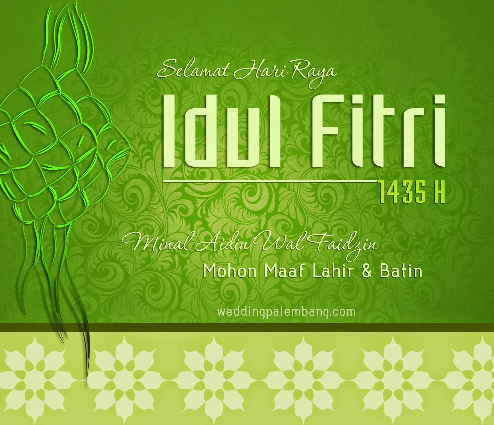 Kumpulan Ucapan Selamat Hari Raya / Lebaran Idul Fitri 1435 H - 2014