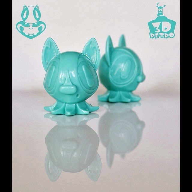 Aquapup Edition Octopup Vinyl Figure by Nathan Hamill